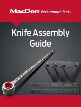 MacDon Knife Assembly Guide Cover