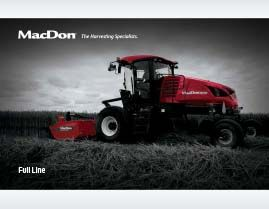 2018 MacDon Full Line Brochure Cover