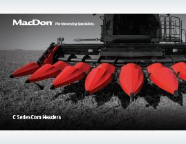 MacDon C Series Corn Header Brochure