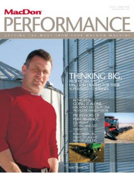 Performance Magazine Fall 2008 Issue