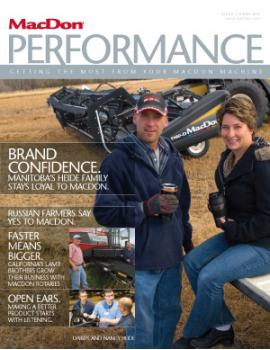 Performance Magazine Spring 2010 Issue
