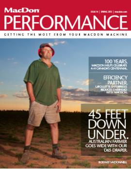 Performance Magazine Spring 2013 Issue