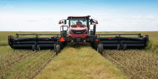 Massive Crop Clearance Ability