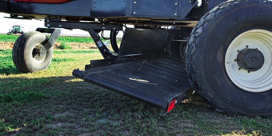 Double Windrow Attachment Option