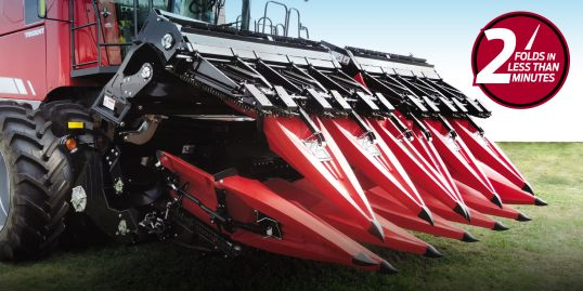 Folding Corn Headers