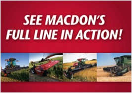 MacDon Full Line In Action